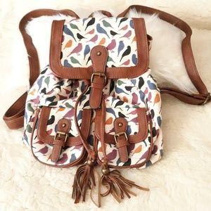 Bird design backpack